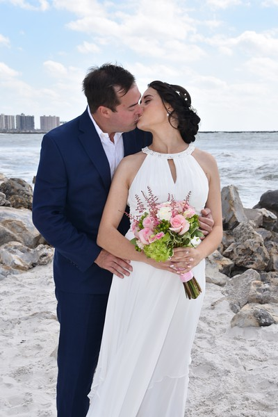 Beautiful destination wedding at Clearwater Beach, FL