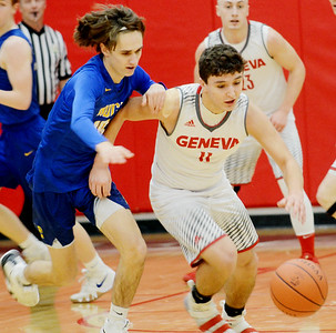 NDCL at Geneva boys sectional basketball 2-26-19