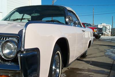 1963 Convertible Lincoln