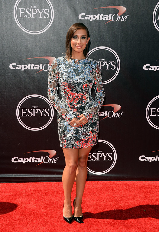 . LOS ANGELES, CA - JULY 16:  Dancer Cheryl Burke attends The 2014 ESPYS at Nokia Theatre L.A. Live on July 16, 2014 in Los Angeles, California.  (Photo by Jason Merritt/Getty Images)