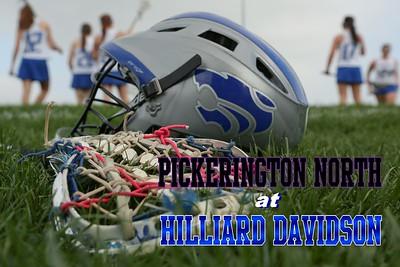 2013 Pickerington North at Hilliard Davidson Girl's Lacrosse (04-17-13) VARSITY
