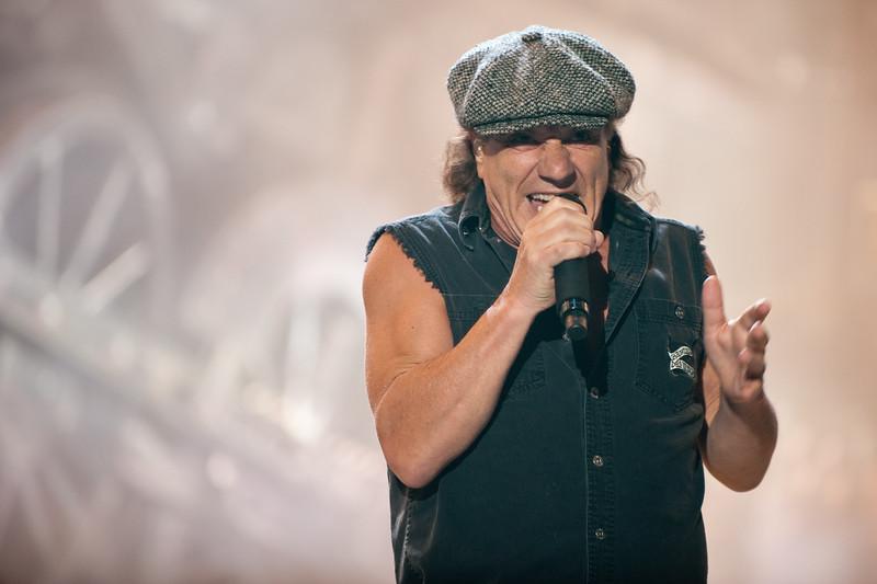 AC/DC frontman Brian Johnson
