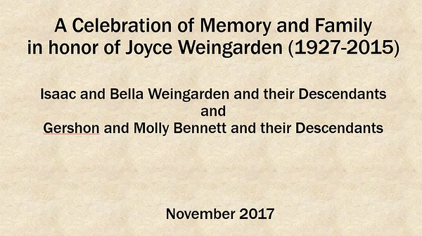 Celebrating Joyce
