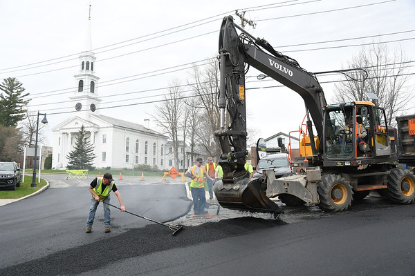 Spring Street gets new road surface - 042920