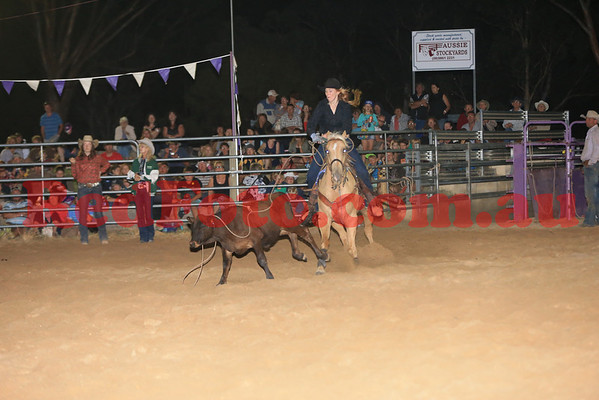 2014 03 08 Wagin Woolorama Rodeo Breakaway Roping