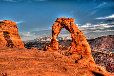 Arches national park and Moab