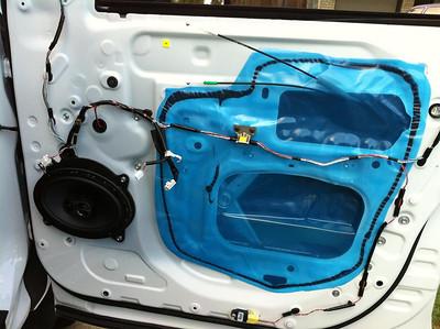 2011 Toyota Tundra CrewMax Front Door Speaker Installation - USA