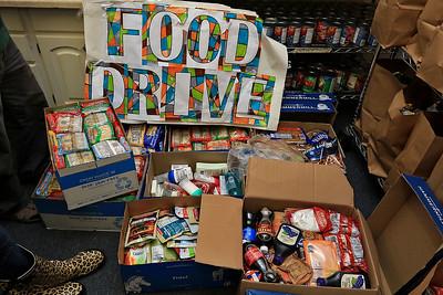 MCI Shirley donated food to Ginny's, November 13, 2018