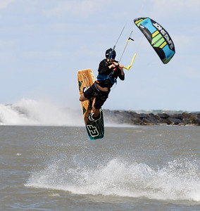 Kite Surfers in Conneaut Septermber 26, 2019