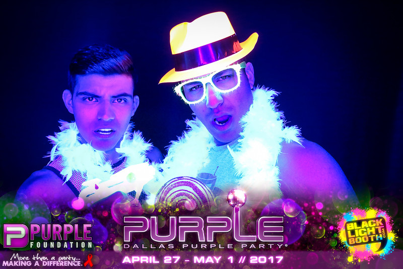 """""""Dallas Purple Party 2017"""" @ Southside Ballroom - Dallas, TX   April 29, 2017   Photos by www.BlacklightBooth.com   To purchase prints, magnets, stickers & more, please visit www.BlacklightBooth.com and click """"GET YOUR PHOTOS!"""""""