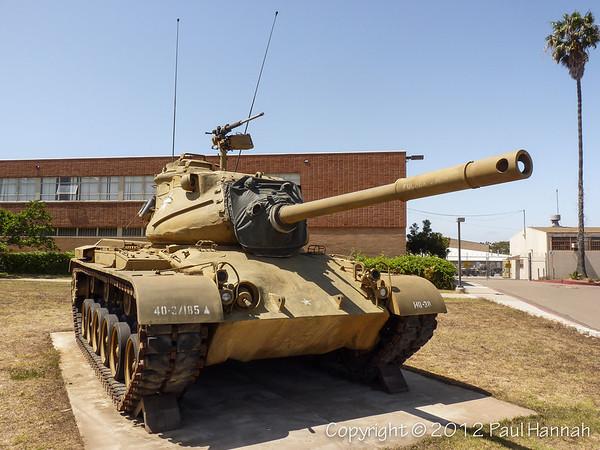 CAANG Armory - San Diego, CA - M47