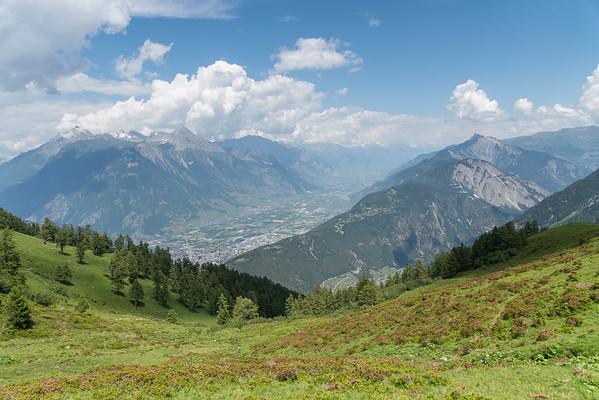 D5 - Champex til Trient um Alp Bovine