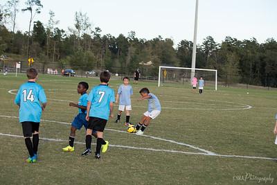 Mel's Soccer Team 10-7-14