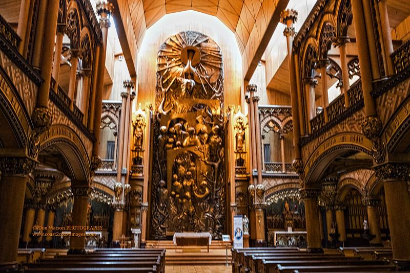 """""""Chapel of Notre-Dame du Sacré-Cœur"""""""