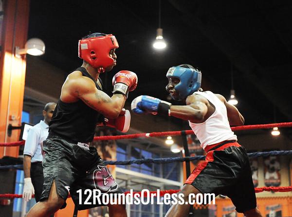 Delorne GrayJordan (Cudell Boxing) vs De'Aaron Mitchell (Southside B.C.)  152 Pound-Sub-Novice  Bout # 9
