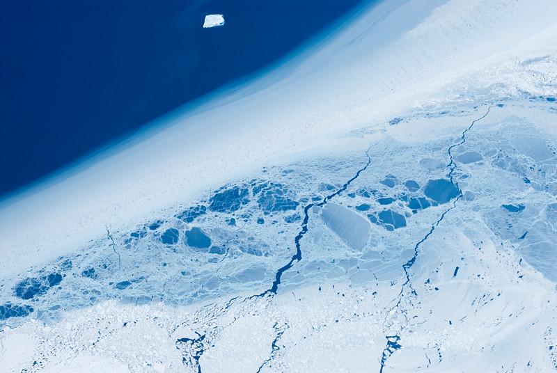 Sea ice near Burke Island