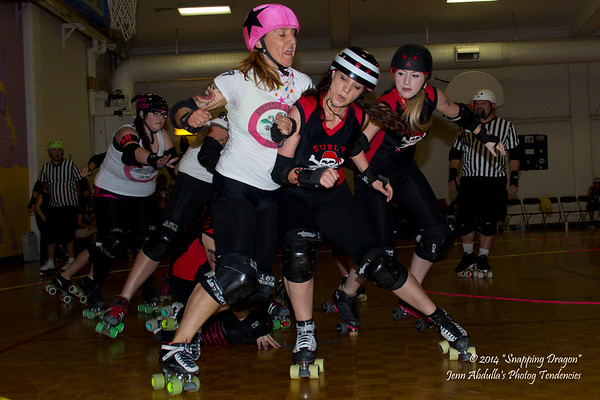 AZRD Surly Gurlies v NAZRD Whiskey Row-llers 3-2014