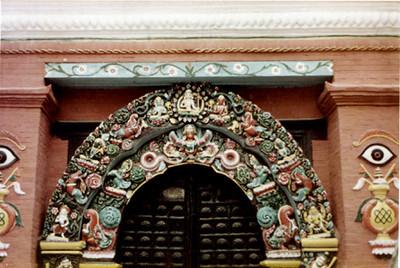 entry arch kath murti SHANKAR