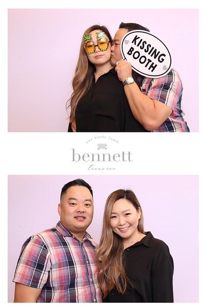 Bennetts 1st Birthday (SkinGlow Booth)