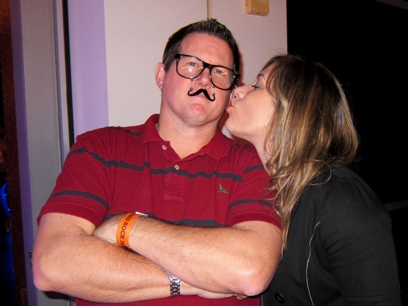 Marcy Kisses a Handsome Stranger