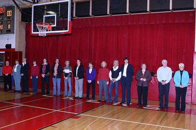 12/12/2009 - 1977 Girls Basketball Team - Special Recognition Ceremony
