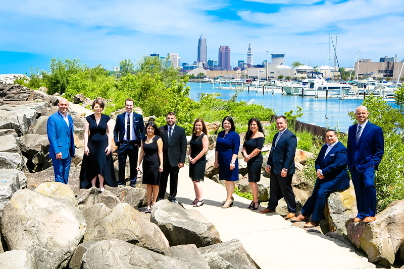 NEO Purchase Team at NLC For Realtors Portrait Session