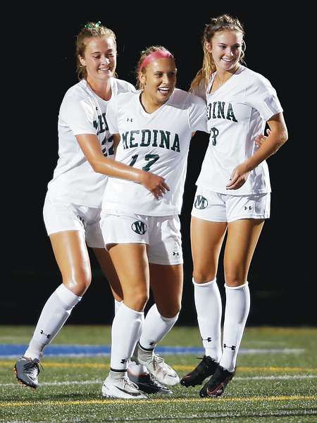 Medina girls beat Brunswick in matchup of top teams
