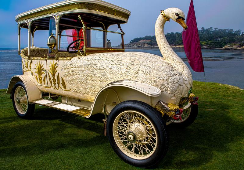 Imagine Swan Lake - 1910  Rolls Royce Brook 25/30 HP Swan Car.