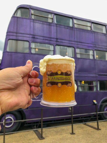 Butterbeer and the Knight Bus