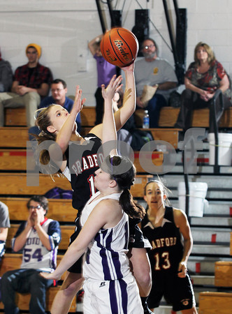 2011 Bradford Girls Basketball @ Coudersport