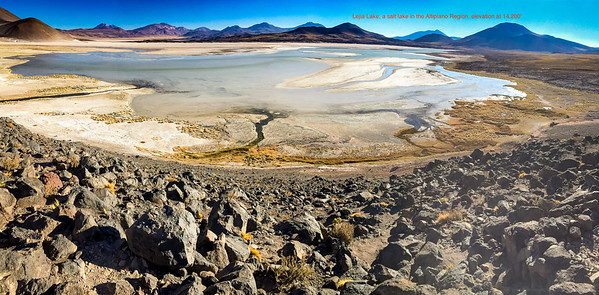 Images from Atacama and Valaparaiso