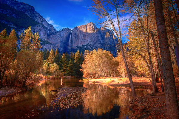 Fall At Yosemite Valley