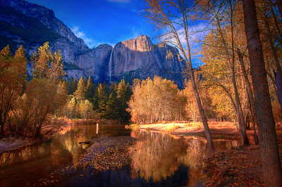 Fall At Yosemite Valley