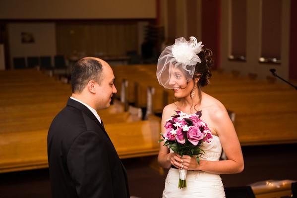 Marty and Elizabeth Wedding - Couple and Wedding Party
