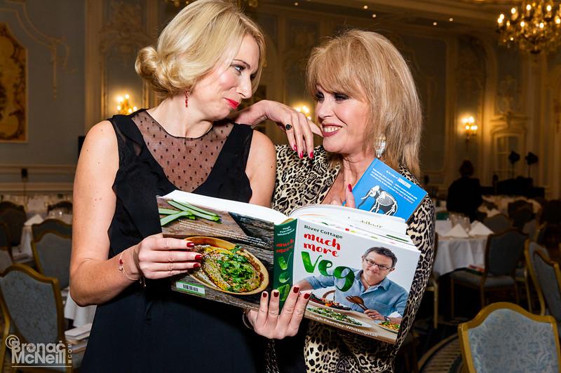 WACL, Vegan Dinner with Joanna Lumley OBE