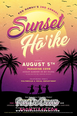 Sunset Ho`ike (2018)