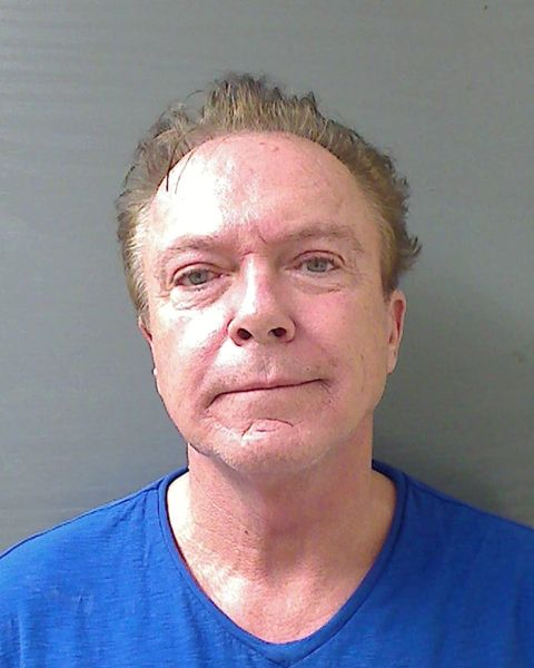 ". This Wednesday, Aug. 21, 2013 booking mug released by the Schodack (NY) Police Department shows actor-singer David Cassidy. Cassidy,  best known for his role as Keith Partridge on ""The Partridge Family,\"" is free on $2,500 bail after being charged with felony driving while intoxicated in upstate New York. Schodack Police Lt. Joseph Belardo says Cassidy was stopped early Wednesday for failing to dim his headlights about 10 miles south of Albany. Belardo says Cassidy was charged with DWI after tests showed his blood-alcohol content at .10, higher than the state�s legal limit of .08. (AP Photo/Schodack Police Department)"