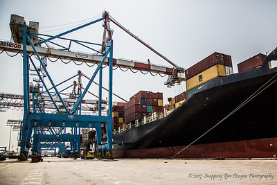 Ashdod Shipping Port, Israel 7-17