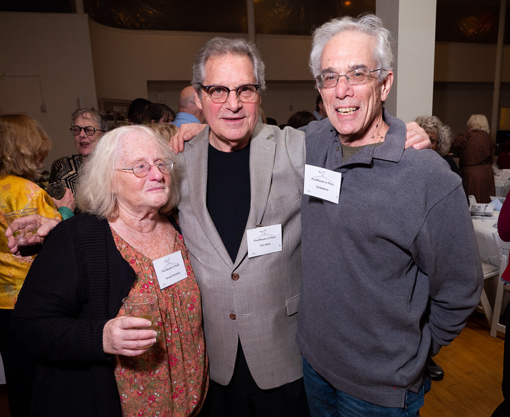 Three great BFP activists: Rusti Eisenberg, Eric Shtob and Ed Goldman.