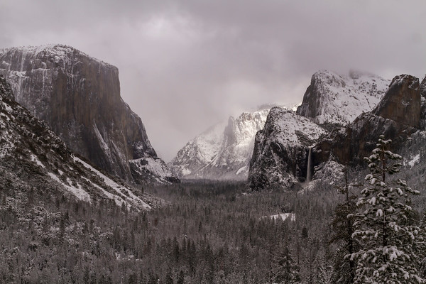 Yosemite Winter 2019