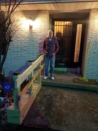 Build Railing at Parents' (2019-12-09)