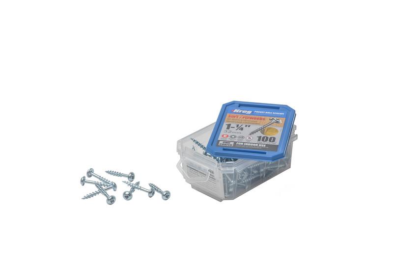 "Kreg 1-1/4"" 32mm Pocket Hole Screws"
