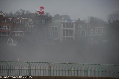 2015 Fog on Christmas Day