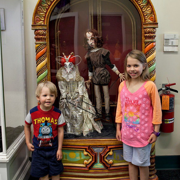 """May 16, 2013 went to see Paul Mesner puppets do """"Sleeping Beauty"""" fantastic. no pix of the show. not allowed. these are some of his other puppets."""