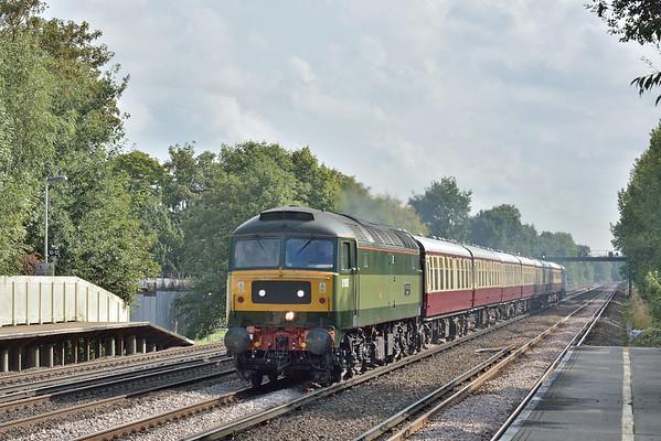 Trains August 2018