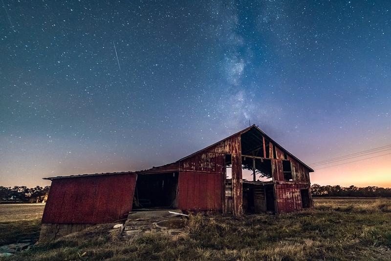 Kaskaskia plains under the stars