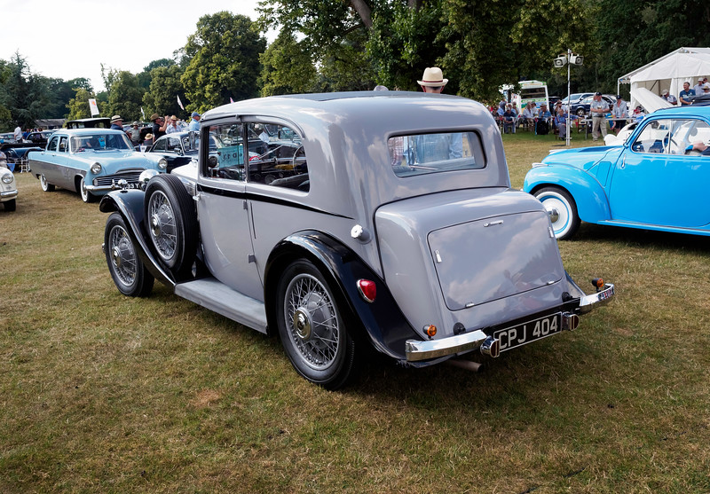 1935 Armstrong Siddeley 17 Sports Foursome