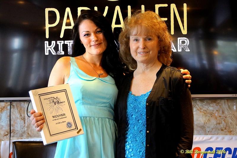 Maryanne Gibson with Tanya Herdick - 30+ Winner - Star Search 2016 318