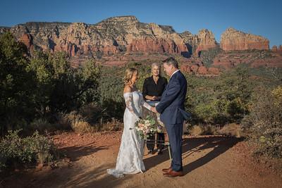 Shan & Robert's Sedona Wedding