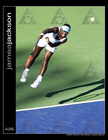 WTA R1: Marissa Irvin def. Jamea Jackson